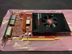 2GB AMD FirePro W5000 GDDR5 DVI 2x DisplayPort PCI Express 3.0 x16 GPU TESTED $39.99
