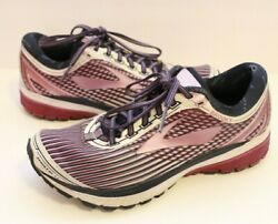 Brooks Ghost LE 10 womens size 8.5 1202461B113 Purple Lilac Navy $39.99