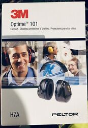 3M Optime 101 H7P3E Peltor Earmuffs for Hard Hats Noise Reduction Rating 24 dB $18.00