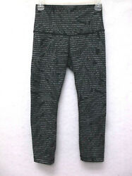 Lululemon Wunder Under Women#x27;s Legging Size 4 Fern Leaves $45.96