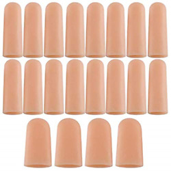 20 PCS Finger Support Protector Gloves Finger Cots Covers Different Sizes for $14.49