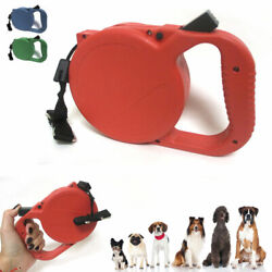 25 FT AUTO RETRACTABLE DOG LEASH WITH STOP LOCK LEADS DOGS UP TO 45 LBS NIP $11.99