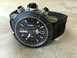 Jaeger Le Coultre JLC Watch Master Compressor Chronograph Navy Seal Spec Ed $8800.00