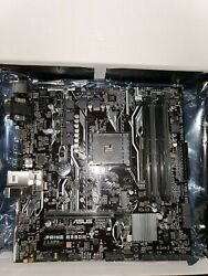 Asus PRIME B350M A AMD DDR4 AM4 M.2 600 Micro ATX Motherboard With I O Shield $90.00