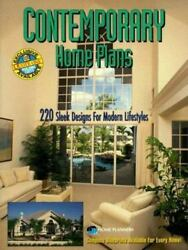 Contemporary Home Plans : 220 Sleek Designs for Modern Lifestyles Paperback $127.00