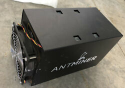 BITMAINTECH ANTMINER S3 POWER SUPPLY NOT INCLUDED BITCOIN MINER $83.00