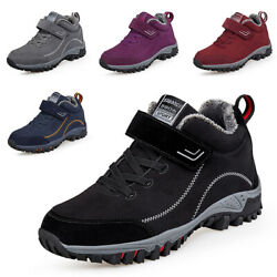 Mens Womens Snow Shoes Sneakers Athletic Outdoor Running Casual Winter Shoes $38.60