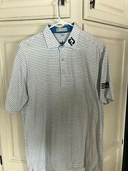 Peter Millar FootJoy shirt tour Logo Size Small $45.99