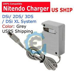 New AC Adapter Home Wall Charger Cable for Nintendo DSi 2DS 3DS DSi XL System $3.49
