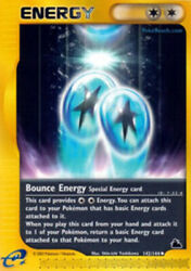 Heavily Played Bounce Energy 142 144 Uncommon $16.09