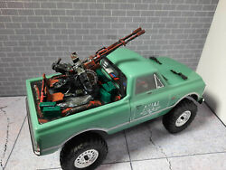 Theme Bed Fire Power Model 1 24 scale SCX24 C 10 3d printed RC prop Kit USA $19.95