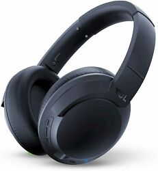 TCL On Ear Noise Cancelling HI RES Bluetooth Wireless Headphones Midnight Blue $34.99