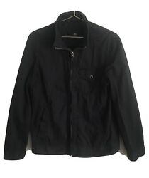 Converse One Star Men's Zip Up Black Jacket Size Small $24.97