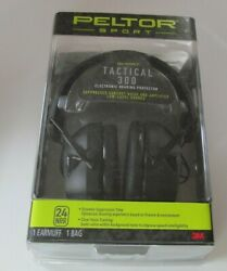 3M Peltor Sport Tactical 300 Electronic Earmuffs NRR 24dB $92.00