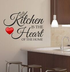 Kitchen Home Decor Wall Sticker Decal Bedroom Removable Vinyl Art Mural $22.95