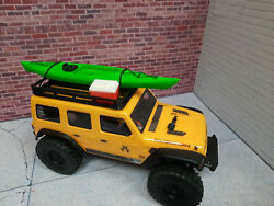 Kayak and Cooler with Roof Rack Green 1 24 scale SCX24 3d printed RC prop USA $24.95