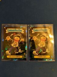 Topps Chrome Sapphire Garbage Pail Kids GPK GREASER GREG 62a amp; CHRIS HISS 62b $14.99