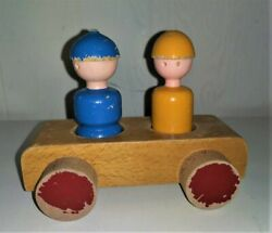 KAY BOJESEN Wooden Danish Toy Car Vintage Japan $150.00