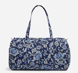 VERA BRADLEY Factory Style Traveler Duffel Bag in TROPICS TAPESTRY $54.99