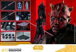 NEW HOT TOYS 12quot; STAR WARS SOLO ASWS DARTH MAUL DELUXE SERIES 1 6 SCALE FIG DX18 $375.00