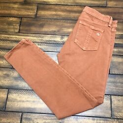 Rag amp; Bone Womens Low Rise Skinny Legging Jegging Jeans Orange Size 27 $24.00