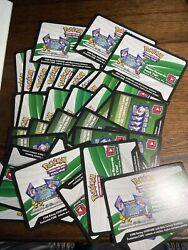 Lot Of 35 UNUSED Pokemon TCG Online Code Cards Mixed Modern Sets READDESCRIP $4.99