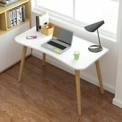 Modern White Computer Desk PC Table Workstation Home Office Study Small Desk US $59.99