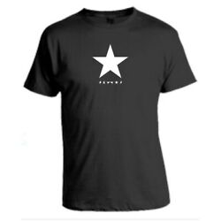 David Bowie Star Mens T Shirt Inspired Retro Black Novelty Adults Tee Size S 5XL $19.99