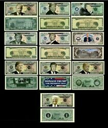 10 Donald Trump Presidential Re Election 2016 2020 Novelty Funny Play Money $5.99