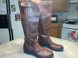 LOOK PALISADE MIA Womens Knee High Boots Brown Size 10 M FAST SHIP $10.00