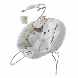 Fisher Price Sweet Snugapuppy Dreams Deluxe Bouncer NEW $39.99
