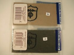 Dental tech. with shield dessert tan and cami patches badges $4.00