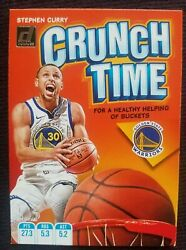 HOT Stephen Curry 2019 20 Donruss Crunch Time Insert #12 of 20 $24.77