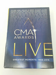 CMA Awards Live: Greatest Moments: 1968 2015 10 DVD Set