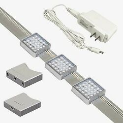 Jesco Lighting Orionis 3#x27; Dimmable Track Kit with 3 LED Track Modules In $24.54