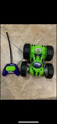 2009 Hasbro Tonka Flip Car 10quot; Bounce Back Racer w Remote Control Toy WORKS $20.00