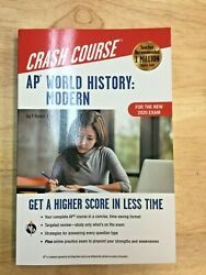 AP Crash Course World History: Modern For the New 2020 Exam Book Online $8.99