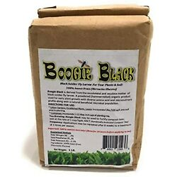 Boogie Brew Organic Insect Frass 1 Lbs Black Soldier Fly Larvae Derived from $14.95