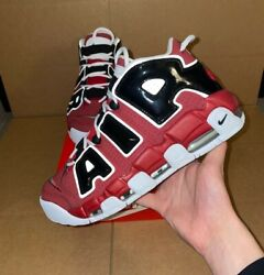 Nike Air More Uptempo #x27;96 Bulls Hoops Pack Size 8 13 921948 600 2021 $199.99