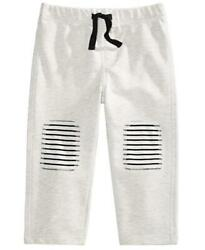 First Impressions Baby Boys Knee Patch Elastic Waist Jogger Pants Size 18 Months $3.50