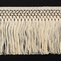 eJoyce 4quot; Vintage Knotted Cotton Fringe by 4 Yards TR 11873 $15.50