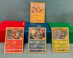 2021 Pokemon McDonalds 25th Anniversary Cards All 50 HOLO amp;Non Complete your Set $24.95