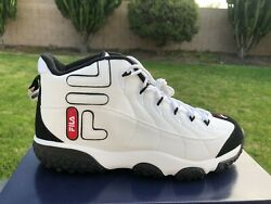 Fila Snake Dancer Synthetic Leather White Black Red Mens Shoes Sneaker Size 8 13 $65.95