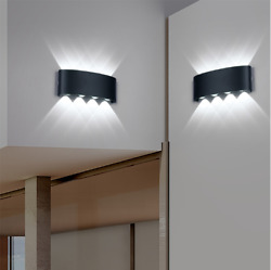 Nordic Wall Lamp Ip65 Led Aluminum Outdoor Up Down wall lights Modern For Home $13.33