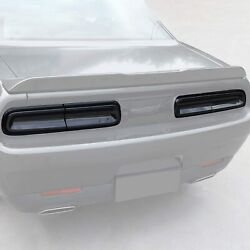 Rear Tail Light Covers Trim Exterior Accessories for 2015 Dodge Challenger