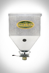 Grass Seeder Broadcast Fertilizer Spreader Receiver Hitch Corn Salt Lime Yard $368.41