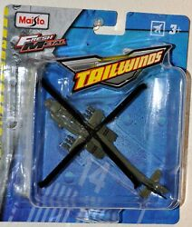 Maisto Fresh Metal Tailwinds Boeing AH 64 Apache Helicopter USA Army $10.95