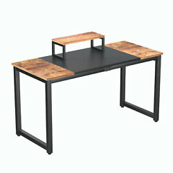 Computer Desk PC Laptop Workstation Gaming Study Wood Home Office Desk $59.99