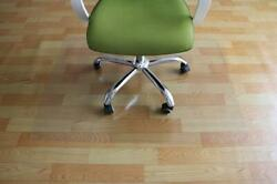 High Quality Square PVC Floor Mat Floor Office Rolling Chair 48quot; x 48quot; Office $25.89