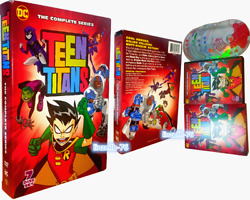 Teen Titans: The Complete Series Season 1 5 DVD 7 Disc Set Free Shipping USA